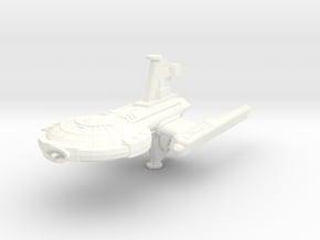 Ghorn Escort Frigate in White Processed Versatile Plastic