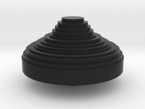POV switch CHINA hat in Black Natural Versatile Plastic