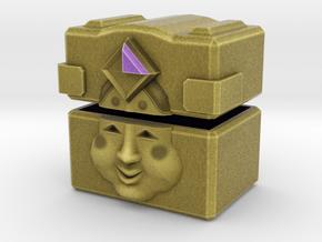 Gold Mask Box in Full Color Sandstone
