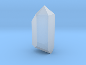 """Crystal (for 1.24"""" Crystal Chamber) in Smoothest Fine Detail Plastic"""
