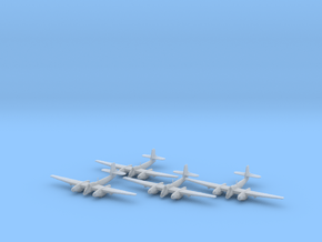 Westland Welkin with bombs 1:200 x4 FUD in Smooth Fine Detail Plastic