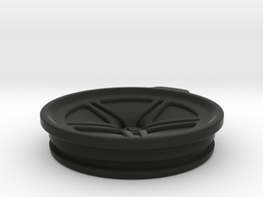 Vossen LC102 30oz Yeti Cup Lid Sealed in Black Natural Versatile Plastic