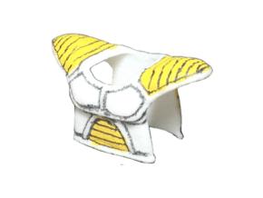 Custom Saiyan Armor (Torso) DBZ Inspired for Lego in White Natural Versatile Plastic