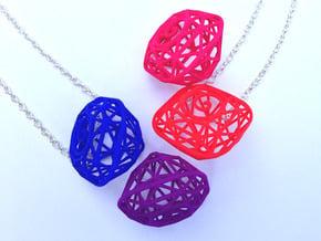 Tiffany Yellow Diamond Modern Intpretation - nylon in Red Processed Versatile Plastic