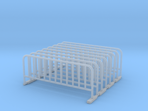Barrier 02. Scale 1:48 in Smooth Fine Detail Plastic