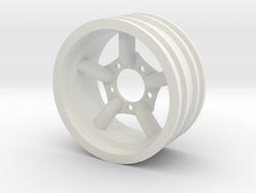 Mach5 Challenger Normal Width in White Natural Versatile Plastic