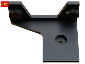 ESB Scope Mount (Bespin HAN Version) in Black Natural Versatile Plastic