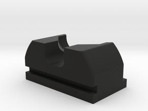 PPQ Suppressor Rear Sight in Black Natural Versatile Plastic