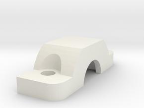 Runcam2Gimbal PitchSupport Bearing Holder in White Natural Versatile Plastic