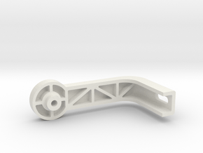 Runcam2Gimbal PitchSupport in White Natural Versatile Plastic