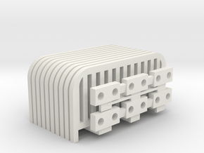 o gauge carnival fence in White Natural Versatile Plastic