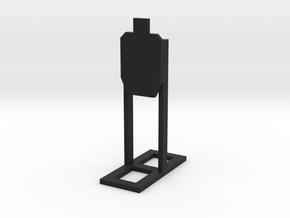 1:24 Scale Standard USPA Target  in Black Natural Versatile Plastic