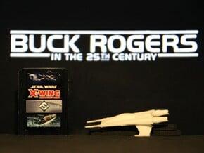 Thunder Fighter (Buck Rogers), 1/270 in White Natural Versatile Plastic