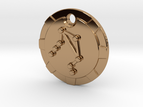 Libra Pendant in Polished Brass