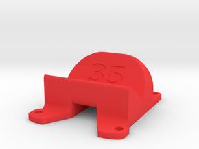 Emax Nighthawk 200 Pro 35° Action Cam Mount in Red Processed Versatile Plastic