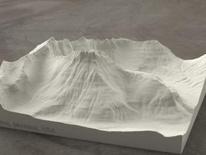 6'' Mt. Wilbur, Montana, USA, Sandstone in Natural Sandstone
