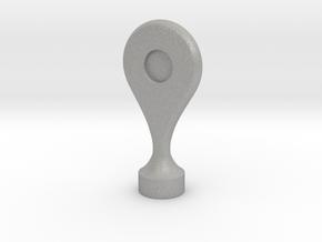 Google Maps Marker - Magnet (no hole) in Aluminum