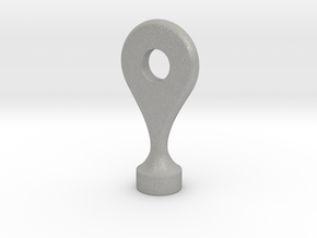 Google Maps Marker - Magnet (with hole) in Aluminum