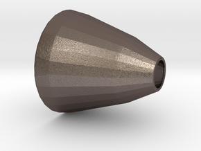 Elliptical Reflector - Copy (1) in Polished Bronzed Silver Steel