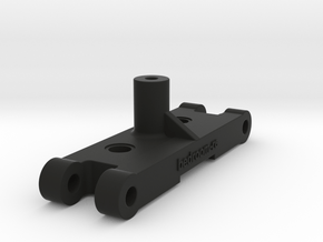 Tamiya Vanquish G8 - Front Arm Mount in Black Natural Versatile Plastic