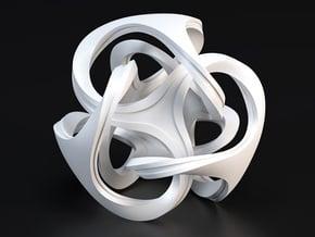 Ora Sculpture 10cm in White Processed Versatile Plastic