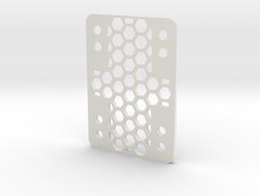 RazorWedge8Hole.2.0 in White Natural Versatile Plastic