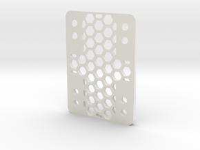 RazorWedge8Hole.3.0 in White Natural Versatile Plastic