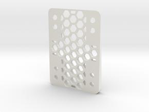 RazorWedge8Hole.4.5 in White Natural Versatile Plastic