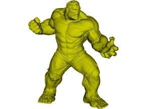 45mm Incredible Hulk figure in Smooth Fine Detail Plastic