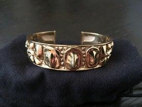 Dragon Hide 16 cm bracelet in 18k Gold Plated Brass