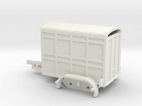 1040 Tiertransporter HO in White Natural Versatile Plastic