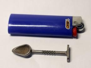 Pax2 Scoop-N-Tamp Tool in Polished Bronzed Silver Steel