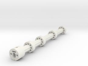 Gspec Lrb Barrel Stabeliser M6 Nut in White Natural Versatile Plastic
