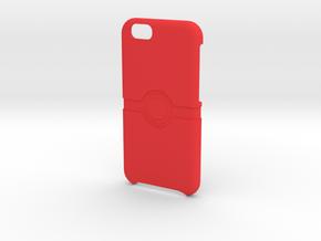 Pokeball case iphone 6 case Pokeball case in Red Processed Versatile Plastic