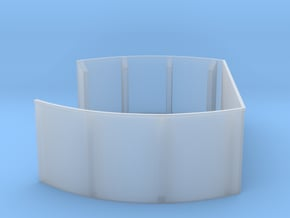 1/96 40mm Twin Midships Tub in Smooth Fine Detail Plastic