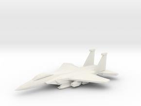 1/350 F-15E Advanced Strike Eagle in White Natural Versatile Plastic