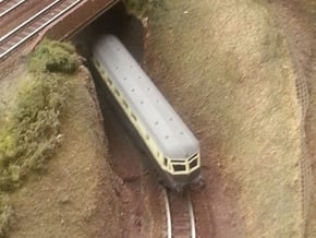 GWR Railcar #19 - Z - 1:220 in Smooth Fine Detail Plastic