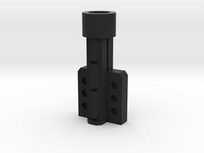 Fort max metroplex gun sword holder in Black Natural Versatile Plastic