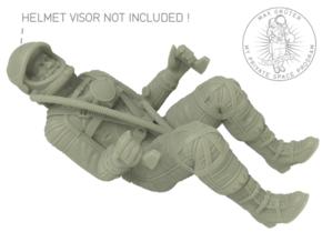 Mercury Astronaut / 1:12 in White Natural Versatile Plastic
