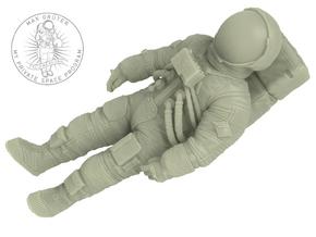 Buzz Aldrin 1:32 (ready to egress LM) in White Natural Versatile Plastic