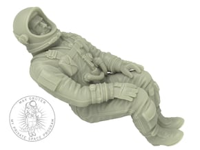 Gemini Astronaut 1:24 (Revell Version) in White Natural Versatile Plastic