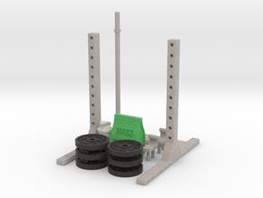 Mini Squat Rack in Full Color Sandstone