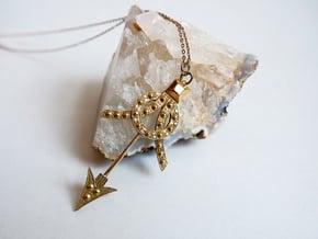 Deco Arrow in Polished Brass