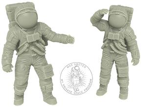 1: 48 Apollo Astronaut a7lb Type / Set l in White Natural Versatile Plastic