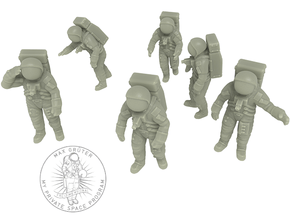 Apollo 11 Astronauts / 1:144 in Smoothest Fine Detail Plastic