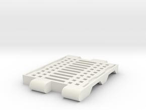 Transformers TR ramp in White Natural Versatile Plastic