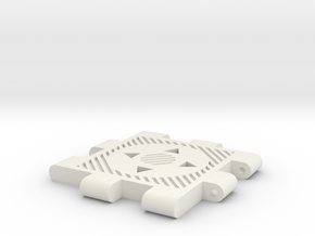 Transformers TR 4-Way Connecter in White Natural Versatile Plastic