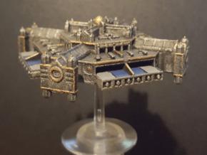 Spacestation Omega (Battlefleet) in White Natural Versatile Plastic