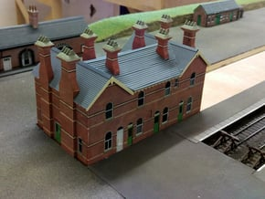 00/HO Chimney Top Details (S&D Bournemouth West)  in Smooth Fine Detail Plastic