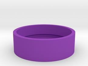 Slot Box USA Quarter in Purple Processed Versatile Plastic